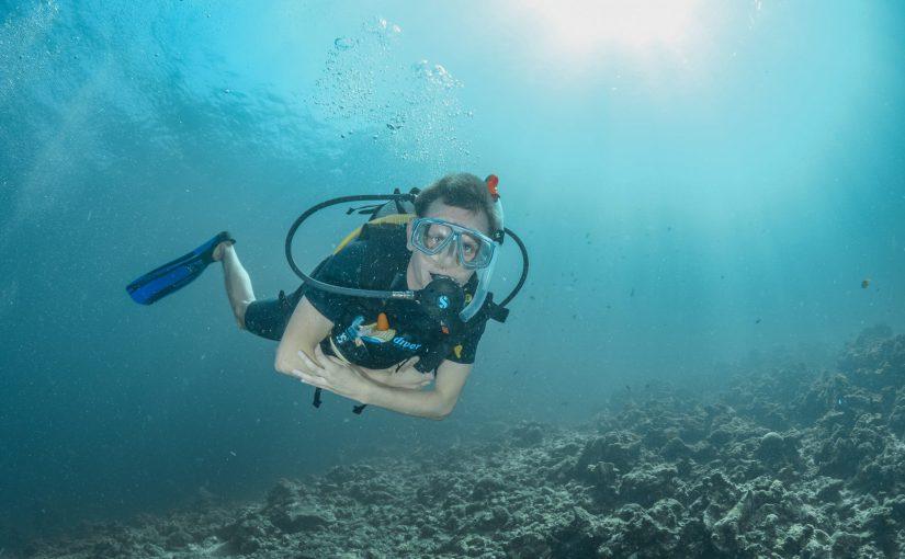 Ralf Wiechers unterwasser in Thailand